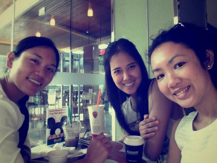 with two of my closest high school friends Juay and Kyla
