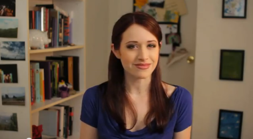 Lizzie Bennet (played by Ashley Clements)