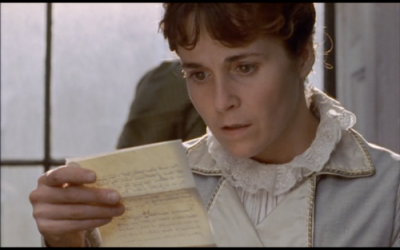Anne reading Wentworth's letter