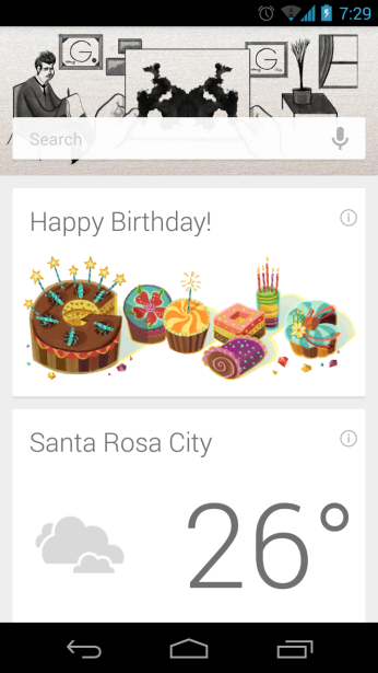 A Google greeting! :D