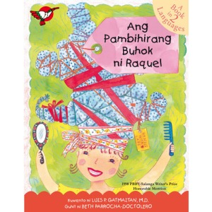 """Ang Pambihirang Buhok ni Raquel"" Click to go to official website of publisher."
