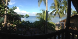 panorama shot from the second floor balcony